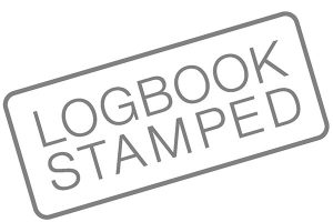 Logbook stamping services